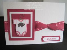 stampin up baby tees - Google Search