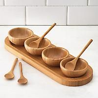 Bamboo Snack Set by Pampered Chef
