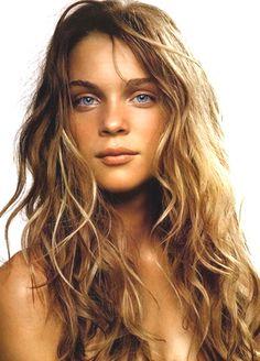 Bronzed Skin Blonde Hair