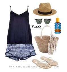 Y. A. Q. - Blog de moda, inspiración y tendencias: [Y ahora qué me pongo con] un top azul oscuro