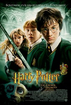 Harry Potter and the Chamber of Secrets, 2002. #harrypotter