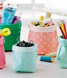 DIY project: Storage bags