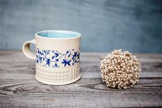 ceramic hand built cup by Freefolding studio on #etsy #homeandliving #homedecor #tableware