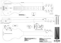 Solid-Body Guitar Plan by Martin Koch Lap Steel Guitar, John Lee Hooker, Robert Johnson, Delta Blues, Toni Braxton, Blues Rock, Ukulele, Resonator Guitar, Guitar Diy
