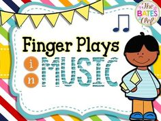 For the younger students, here is a pack of rhymes with finger plays.