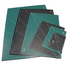 "Amazon.com: US Art Supply® 36"" x 48"" GREEN Self Healing 5-Ply Double Sided Durable Non-Slip PVC Cutting Mat"