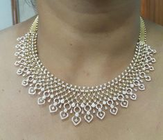 Houston Diamond District offers a 30 day return policy on all of its productsWe only sell Natural, conflict free diamonds.Direct Manufacturer Prices & Free Certificate of Authenticity Gold Jewellery Design, Gold Jewelry, Women Jewelry, Diamond Jewelry, High Jewelry, Pearl Jewelry, Jewelry Art, Diamond Choker Necklace, Diamond Pendant