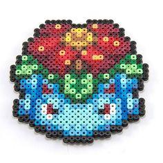 Venusaur hama beads by pixelmustache