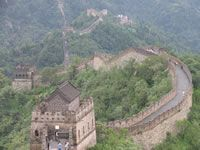 Great Wall Of China--One of the Seven Wonders left to see. Great Wall Of China, China Wall, China China, Seven Wonders, Fortification, Haunted Places, Beijing, Wonders Of The World, Places To Travel