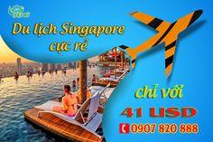 Du lịch Singapore giá rẻ chỉ 41 USD - Đại lý Tiger Air