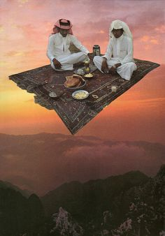 "Funny Carpet l. pershina ""flying carpet"" fedoskino   the inna kaufman gallery"