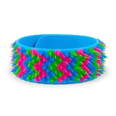 Girls Chevron Spike Slap Bracelet - Multi - The Children's Place