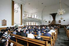 Interior of the Hersteld Hervormde Kerk (Restored Reformed Church) in Doornspijk.1.300 Seats.