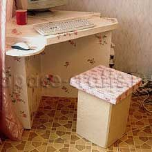 стол из картона