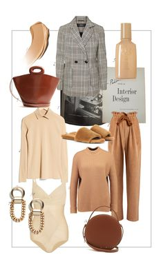 When thinking of fall, neutral and earthy tones are my favorites during this period. This week on my mind: the checked blazer by VERO MODA (I'm still searching for the perfect one), the nude merino wool & OTHER STORIES knit and the vintage inspired leather tote by LEMAIRE (love the 70s design). Maybe I'll try a whole monocolor look soon! More on THEDASHINGRIDER.com
