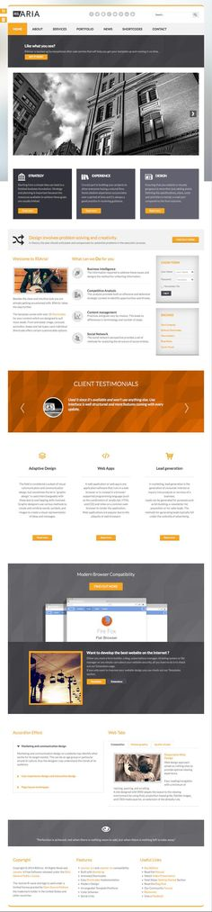 RSAria - Responsive Joomla Template With a Minimalist Design