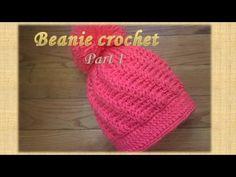Como tejer gorro boina fácil y rápido- Make Knitting Beanie easy ... 609c5a9db6a