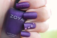 Zoya MatteVelvet Nail Polish in Savita!
