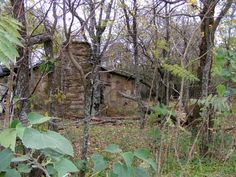 A dwelling once a home to a Cherokee family in the Cherokee Nation of Oklahoma