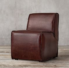 Bruno Leather Side Chair
