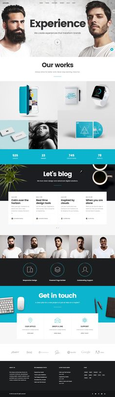 Uncode is a pixel perfect creative multi purpose Wordpress Theme based on Visual Composer designed with terrific attention to details and performance. It is ultra professional, smooth and sleek, with a clean modern layout, for almost any need: #agency, freelance, blog, magazine, portfolio, photography, corporate and eCommerce shop. #Creative #WordPress #Templates