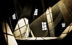 The Cabinet of Dr. Caligari. Silent film by Robert Wiene. Expressionism.