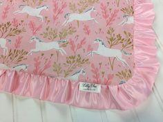 Unicorn Baby Girl Blanket -Tula Frolic Accessory - Baby Girl Security Blanket - Unicorn Nursery - Unicorn Birthday Gift  Click to see more photos!