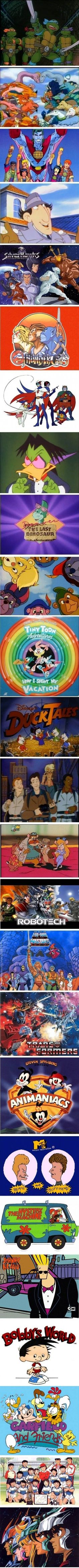 80's and 90's cartoons