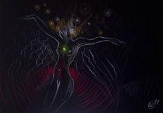"Saatchi Art Artist Sylvia C Sosnovska Artist; Drawing, ""Through the Heart"" #art"