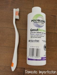 grout paint and sealer