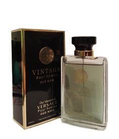 Vintage Pour Homme OUD Noir Perfume for Men- Our version of Versace Pour Homme OUD Noir 100ml (Impression Perfume/Imitation)