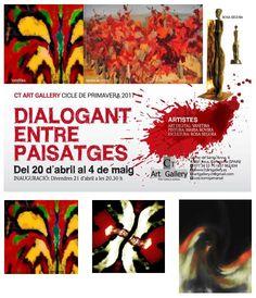 "Exposición ""DIALOGANT ENTRE PAISATGES"" by VANITIRA Art Digital"