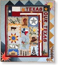 Texas Our Texas, wonderful block of the month quilt designed by my friend Alice Wilhoit!