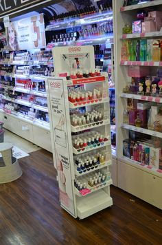 Essie nail polish display stand to increase your sales from HICON POP DISPLAYS LIMITED
