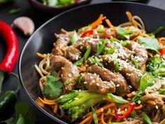 Asian Recipes, Beef Recipes, Cooking Recipes, Ethnic Recipes, Yummy Recipes, Good Food, Yummy Food, Air Fryer Recipes, International Recipes