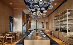 Locales de diseño: Ideas para decorar un restaurante con platos  |  DECOFILIA.com