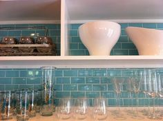 ClayHaus Ceramics is perfect for a beautiful kitchen that is also earth friendly. #earthday2012
