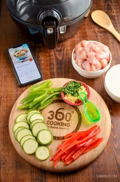 Enjoy two delicious courses courtesy of Tefal Actifry, Spiced Thai Chicken Curry and Roast Pineapple and Mango - delish! Tefal Actifry, Thai Chicken Curry, Actifry Recipes, Roasted Pineapple, Slimming Eats, Spicy Thai, Asian Recipes, Ethnic Recipes, Air Fryer Recipes