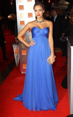 Jessica Alba - At the BAFTA Awards on February 13, 2011.