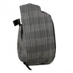 isar backpack M (concrete herringbone)