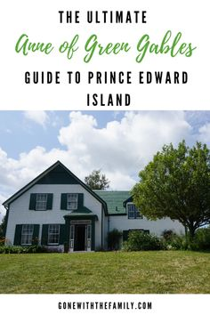The Ultimate Guide to Prince Edward Island for Fans of Anne of Green Gables - all of the attractions and activities that Anne fans should see and do in Cavendish, Charlottetown and elsewhere on Prince Edward Island. Be kind to the places you visit. The Places Youll Go, Cool Places To Visit, Places To Travel, Travel Destinations, Quebec, Montreal, Pei Canada, Literary Travel, Canadian Travel