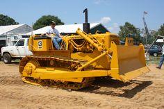Caterpillar D-4D (1965), Berryville, VA Caterpillar D4, Caterpillar Bulldozer, Caterpillar Equipment, Heavy Construction Equipment, Heavy Equipment, Excavation Equipment, Cat Bulldozer, Earth Moving Equipment, Big Tractors