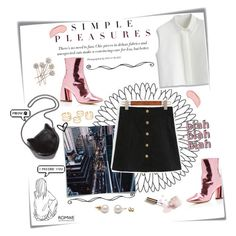 """""""Let's get lost"""" by magi-418 ❤ liked on Polyvore featuring Post-It, E L L E R Y, STELLA McCARTNEY, Ciaté, Chicwish and NYX"""