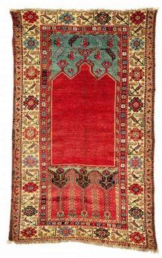 Antique Ladik Prayer rug C. 1800