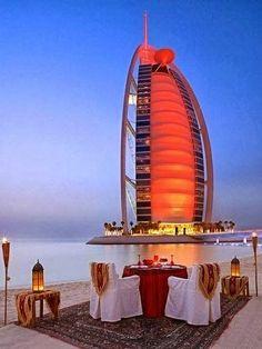 Dinner by the Burj al Arab I will check here! bucketlist#19