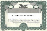 Corporate Bond Certificate Template (1) Templates Example Inside Corporate Bond Certificate Template Us Bonds, Corporate Bonds, Certificate Templates