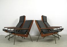 Rob Parry set of lounge chairs