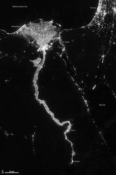 All sizes | City Lights Illuminate the Nile | Flickr - Photo Sharing!