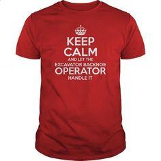 Awesome Tee For Excavator Backhoe Operator - #teespring #pink sweatshirt. ORDER HERE => https://www.sunfrog.com/LifeStyle/Awesome-Tee-For-Excavator-Backhoe-Operator-Red-Guys.html?60505