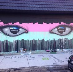 Artist @MyDogSighs latest Street Art in Wynwood, Miami #art #mural #graffiti…